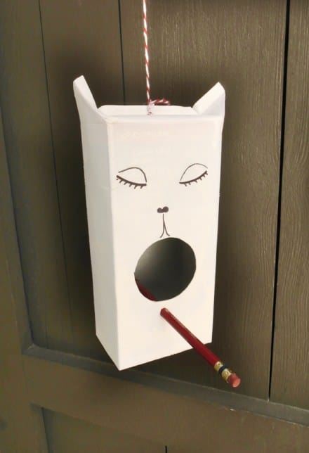 Tetrapak Bird house