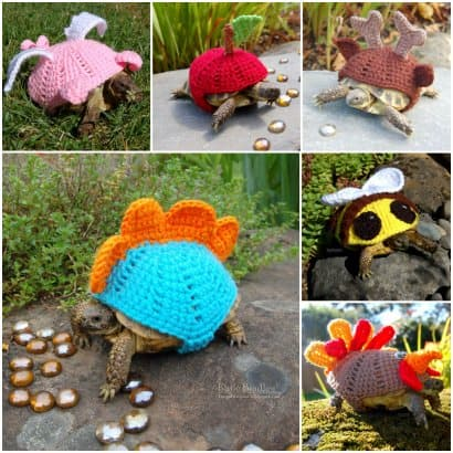 Crocheted Tortoise Cozy