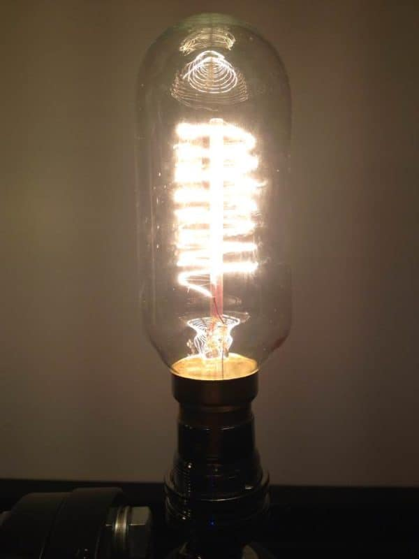 Repurposed Steam valve into table lamp Lamps & Lights