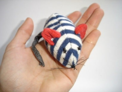A mouse from an old sock