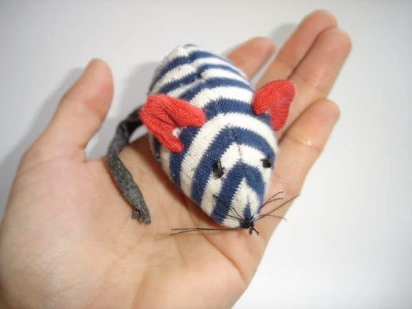 A Mouse from an Old Sock Clothing