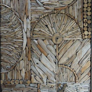 Driftwood pattern decoration