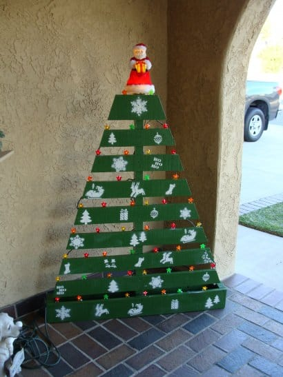 Pallet Christmas Tree