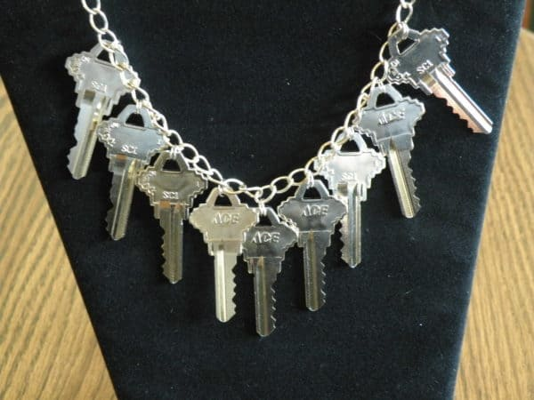 Keys Necklace Upcycled Jewelry Ideas