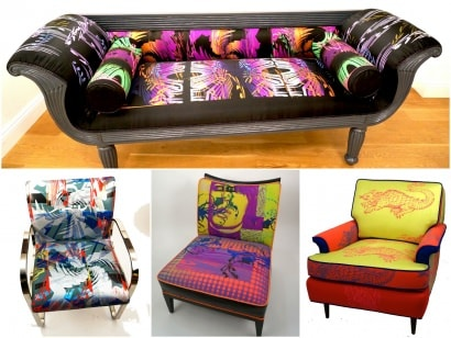 """Mythic Electric"" Collection By Joann Berman"