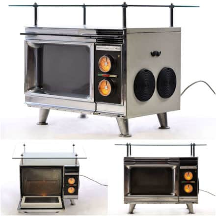 Oven Mp3 Table, Winner of Our April Contest!