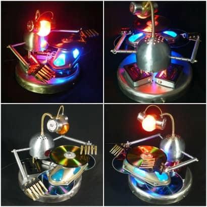 Mix Master Bot: Robot Lamp