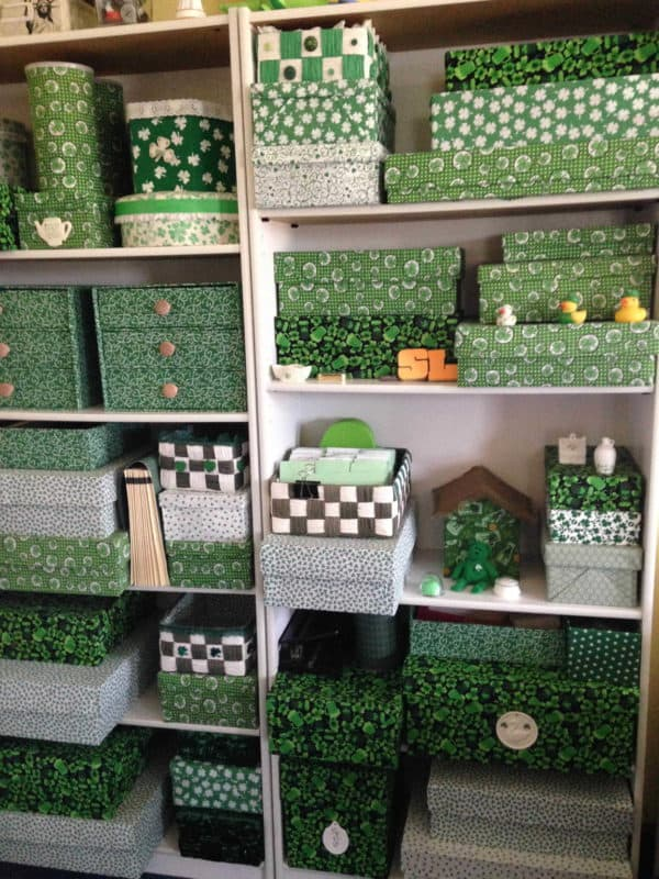 Shamrock Storage Do-It-Yourself Ideas Recycled Packaging