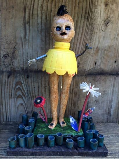 Joyous Spring – Trash art