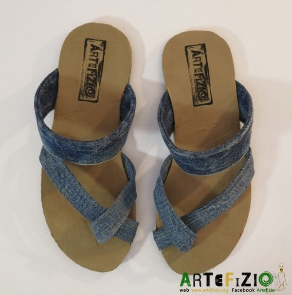 Infra - Upcycled Sandal Serena Accessories