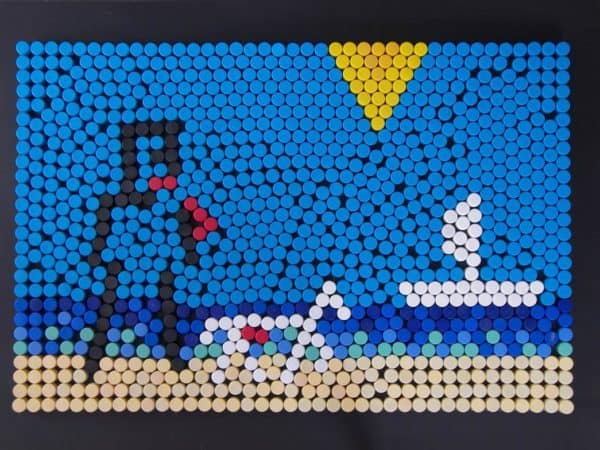 PiXEL31: Used Bottle Cap Pictures Recycled Art
