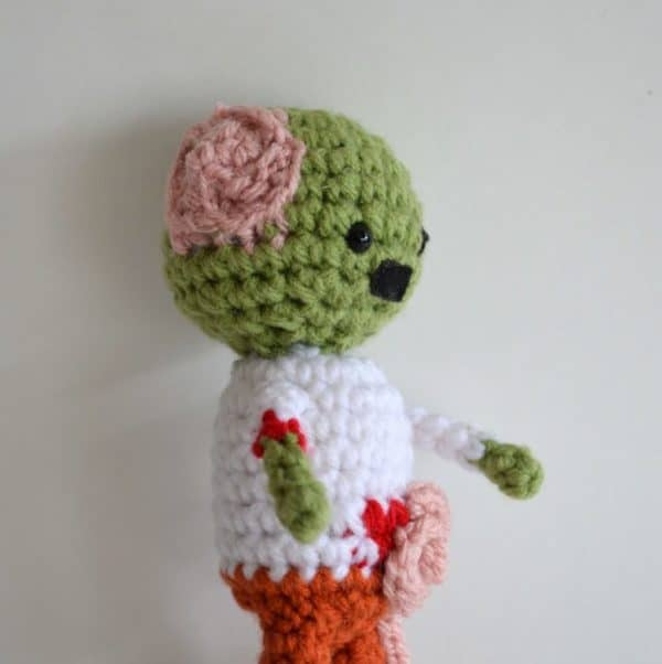 Zombie Crocheted Pattern ? Recycled Ideas ? Recyclart