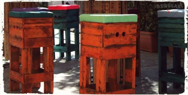 Redolab Work Recycled Furniture Recycled Pallets
