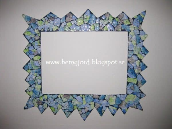 Cardboard & Eggshells Frames Recycled Cardboard