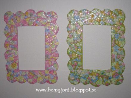 Cardboard & Eggshells Frames