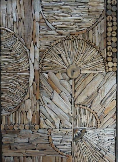 Driftwood pattern decoration