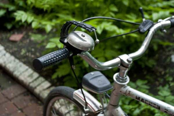 Alarmbell for Bike Upcycled Bicycle Parts