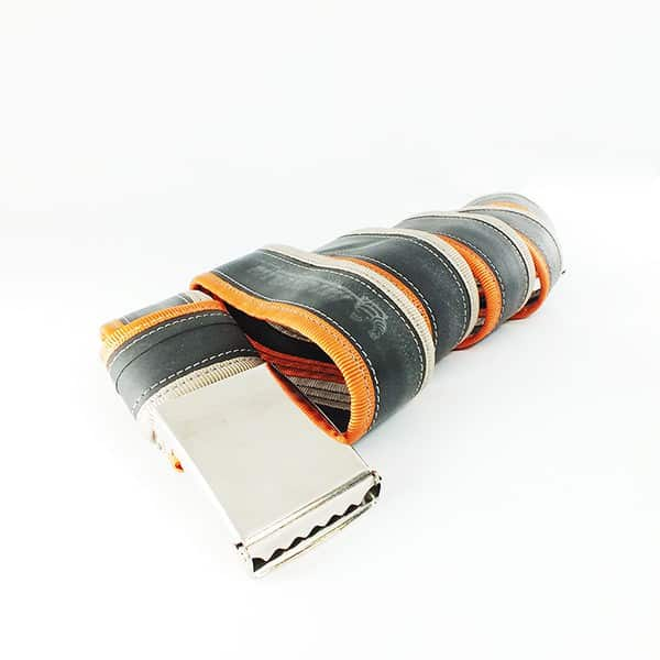 DSCF5729 Punctured bicycle inner tube belts in bike friends accessories with Recycled Inner tube Belt
