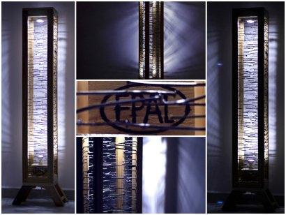 "Lámpara de pie ""EPAL"" / ""EPAL"" floor lamp"