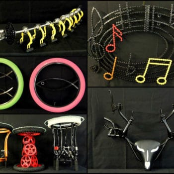 "A new collection of Bicycle Art  ""Cyclodermie"""