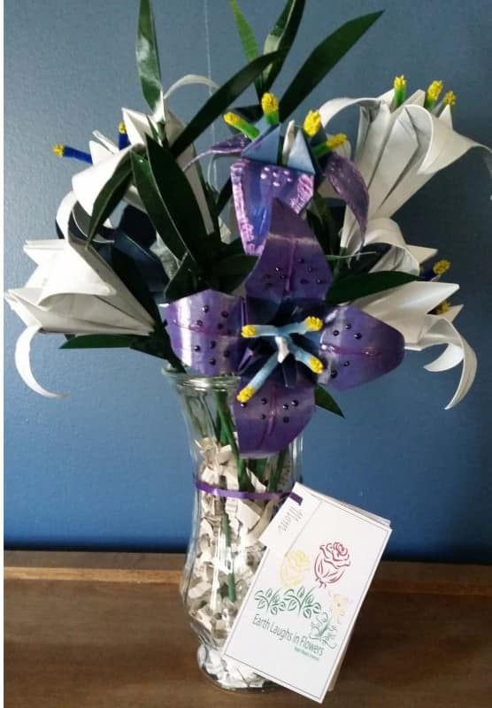 Upcycled Junk Mail Seed Bouquets Do-It-Yourself Ideas Recycling Paper & Books