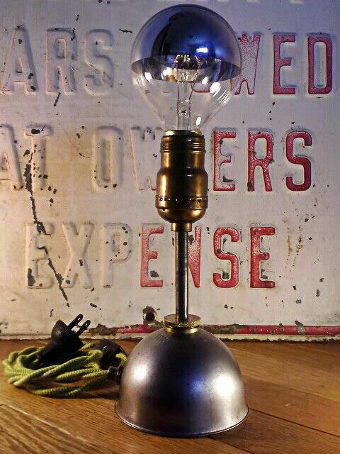 Vintage industrial lighting with a modern twist in lights  with Vintage Repurposed pendant modern Lamp Desk