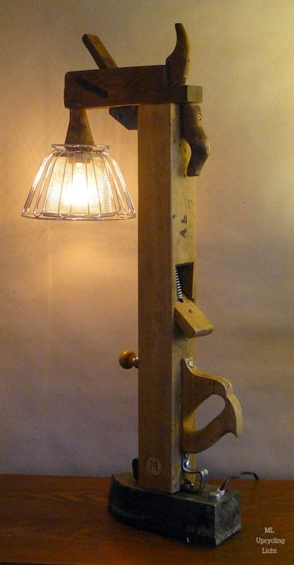 Upcycled lamps Lamps & Lights