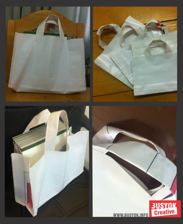 Recycled Tarpaulin Bags Accessories Do-It-Yourself Ideas