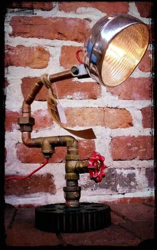 Awesome Up-cycled Functional Artistry Made with Reclaimed Materials Lamps & Lights