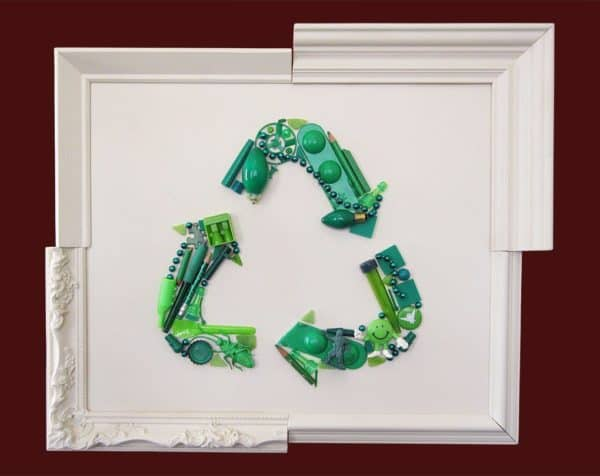 Ode to Recycling Recycled Art