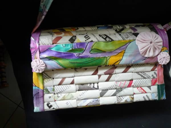 Seelentasche Soulbag - Recycled Paper Bag Accessories Recycling Paper & Books