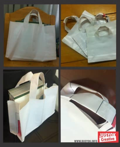 Recycled Tarpaulin Bags