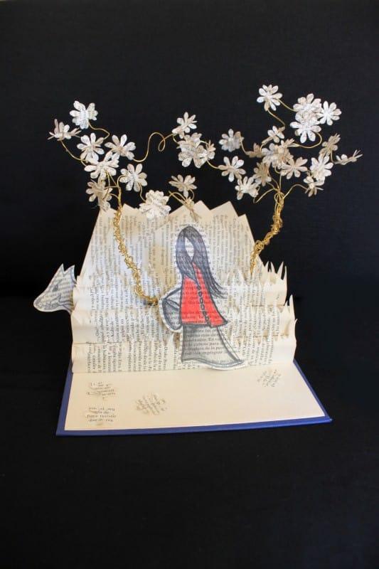 Altered books Art 03