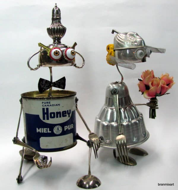 Recycled Art Sculptures 04