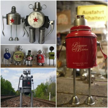 Assemblage of junk robots