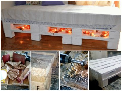 DIY: Sofa-bed from upcycled pallets