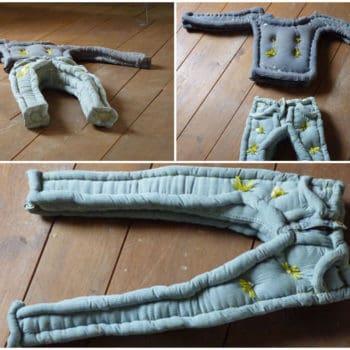Upcycled Clothing Mattress