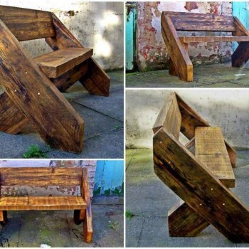 The Big Foot Bench by Green Thumb Print