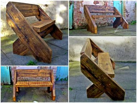 The Big Foot Bench by Green Thumb Print.