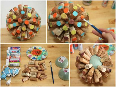 Recycled Wine Corks into Sphere (Tutorial)