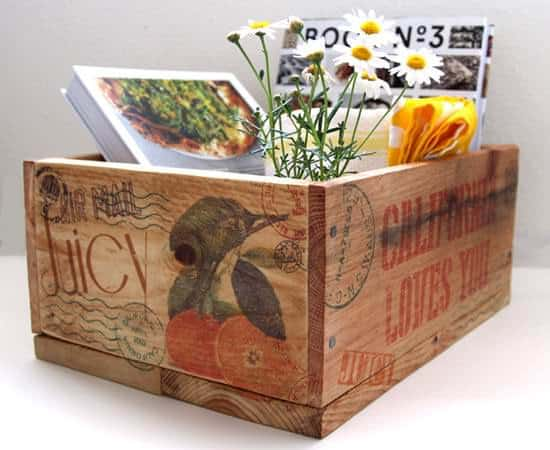 DIY Pallet Wood Crates & Easy Image Transfer Accessories Recycled Pallets