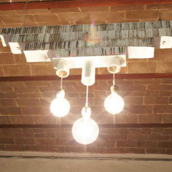 Lampada in cartone / Cardboard Pendant Lamp