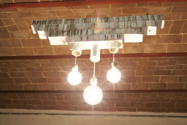 Lampada in Cartone / Cardboard Pendant Lamp Lamps & Lights Recycled Cardboard