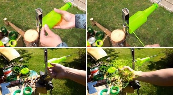 Diy: Plastic Bottles Turned into String Do-It-Yourself Ideas Recycled Plastic