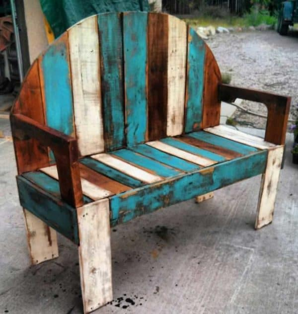 James Plamondon pallet works in furniture pallets 2  with upcycled furniture Repurposed pallet