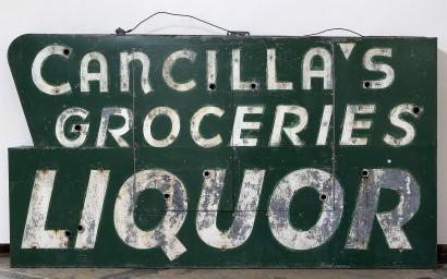Cancillas sign