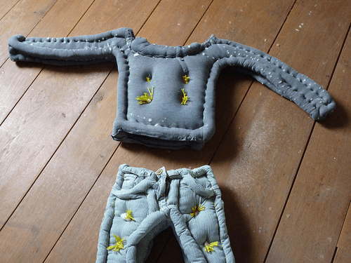 Upcycled Clothing Mattress Clothing Do-It-Yourself Ideas