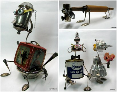 Recycled Art Sculptures