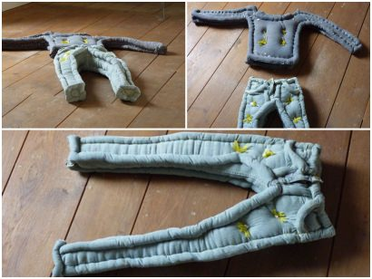 Upcycled Clothing Mattress