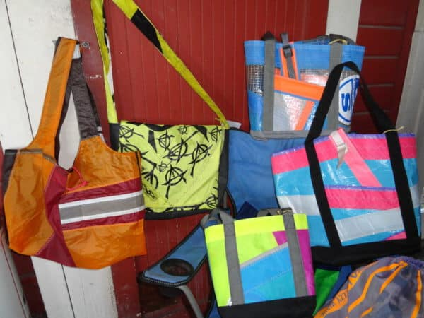 New Life for Old Windsurfing Sails and Kites Accessories
